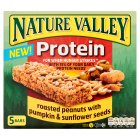 Nature Valley protein, peanuts pumpkin & sunflower - 5x30g Brand Price Match - Checked Tesco.com 29/07/2015