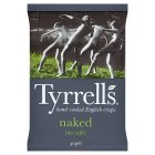 Tyrrell's naked - no salt chips