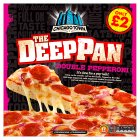 Chicago Town the deep pan double pepperoni - 415g Brand Price Match - Checked Tesco.com 21/04/2014