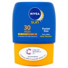 Nivea sun 30 high pocket size