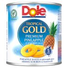Dole Tropical Gold Pineapple Slices - drained 272g