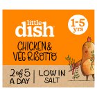 Little Dish 1 yr+ Chicken and Veg Risotto - 200g Brand Price Match - Checked Tesco.com 01/07/2015