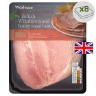 Waitrose British Wiltshire honey roast ham, 8 slices