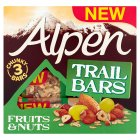 Alpen trail bars fruit & nuts - 3x48g Brand Price Match - Checked Tesco.com 17/09/2014