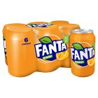 Fanta orange multipack cans