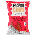 Propercorn fiery worcester sauce & sun-dried tomato - 80g Brand Price Match - Checked Tesco.com 01/07/2015