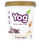 Yog vanilla bean & honey frozen yogurt - 500ml