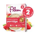 Plum porridge strawberry & banana - 250g