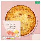 Waitrose crustless quiche Lorraine - 340g