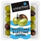 Unearthed Nocellara & Leccino olives - 240g