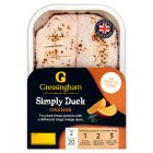 Gressingham 2 tangy duck breasts - 350g Brand Price Match - Checked Tesco.com 23/07/2014