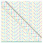 Waitrose Gift wrap multi spot 2m roll - each