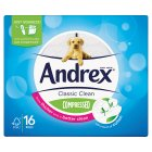 Andrex Classic Clean Compressed - 16s Special Purchase