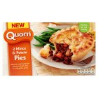 Quorn 2 mince & potato pies - 400g