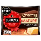 Seriously Strong Mature Cheddar - 350g Brand Price Match - Checked Tesco.com 05/10/2015