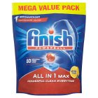Finish All in 1 Max Super Charged Lemon - 72s
