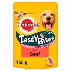 Pedigree Tasty Bites Chewy Slices Beef - 130g