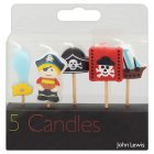 John Lewis pirate candles - 5s