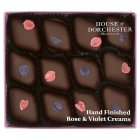 House of Dorchester Hand Finished Rose & Violet Creams - 155g