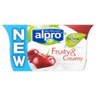 Alpro Fruity & Creamy cherry - 2x110g