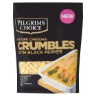 Pilgrim's Choice cheddar crumble topping with black pepper - 180g
