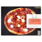 menu from Waitrose spicy Calabrian salami pizza - 490g