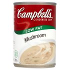 Campbell's condensed low fat mushroom soup
