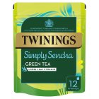Twinings simply sencha green tea 12 pyramids - 24g