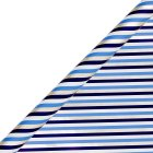 Waitrose 2m barber stripe giftwrap -
