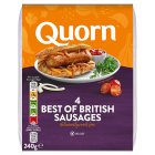 Quorn Best of British sausages - 240g Brand Price Match - Checked Tesco.com 16/07/2014