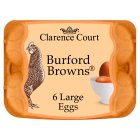 Clarence Court Large Burford Browns Free Range Eggs - 6s