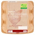 Waitrose British Blacktail 9 mixed weight free range eggs - 9s