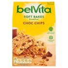 Belvita Breakfast biscuits soft bakes choc chip 5 pack - 250g