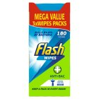 Flash Wipes Anti-Bac Plus - 180s