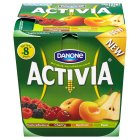 Activia garden fruit yogurt variety pack - 8x125g