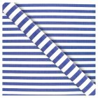 Waitrose 2M Gift Wrap - Nautical Stripe - each