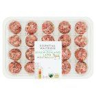 essential Waitrose New Zealand lamb 24 meatballs