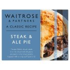 Waitrose steak & stout pie - 210g
