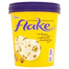 Cadbury Flake ice cream tub - 480ml