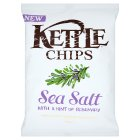 Kettle chips sea salt with a hint of rosemary - 150g Brand Price Match - Checked Tesco.com 16/07/2014