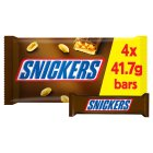 Snickers, 4 pack - 4x41.7g Brand Price Match - Checked Tesco.com 25/05/2016