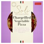 Soli chargrilled vegetable pizza - 370g
