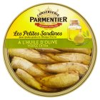 Parmentier Petites Sardines in Olive Oil - drained 110g