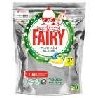 Fairy Platinum Dishwasher Capsules Lemon 42s - 708g