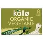 Kallo 8 vegetable stock cubes - 88g