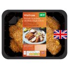 Waitrose British mexican style tortilla breaded chicken thighs -