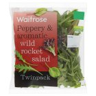 Waitrose rocket salad - 2x50g