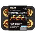 Heston from Waitrose 12 mini chilli con carne muffins - 255g