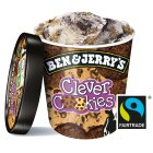 Ben & Jerry's clever cookies ice cream