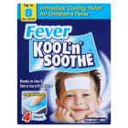 Kool 'n' Soothe fever gel sheets